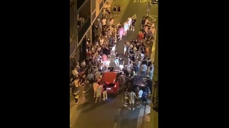 Incidentes en la calle Héroes del Silencio de Zaragoza el pasado 2 de septiembre