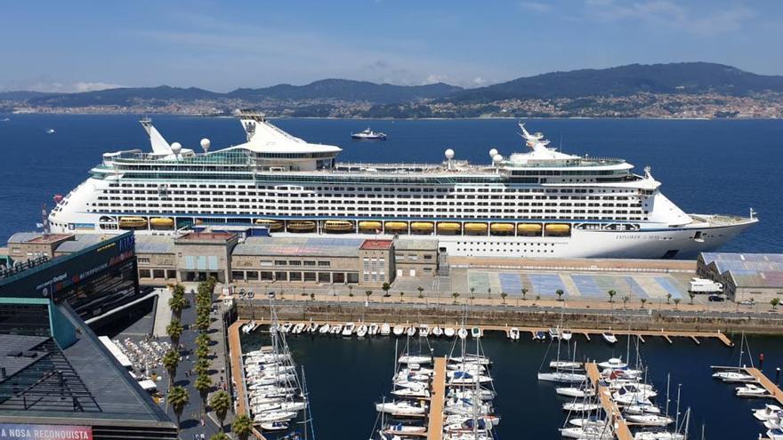 Un verdadero explorador de los mares recala en Vigo