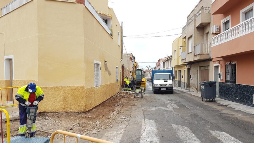 El Ayuntamiento de Bullas continúa con su plan de pavimentación