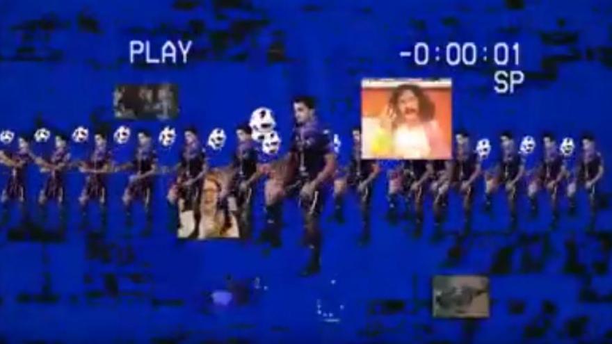 El Zamora CF pone el modo videojuego noventero para promocionar su merchandising