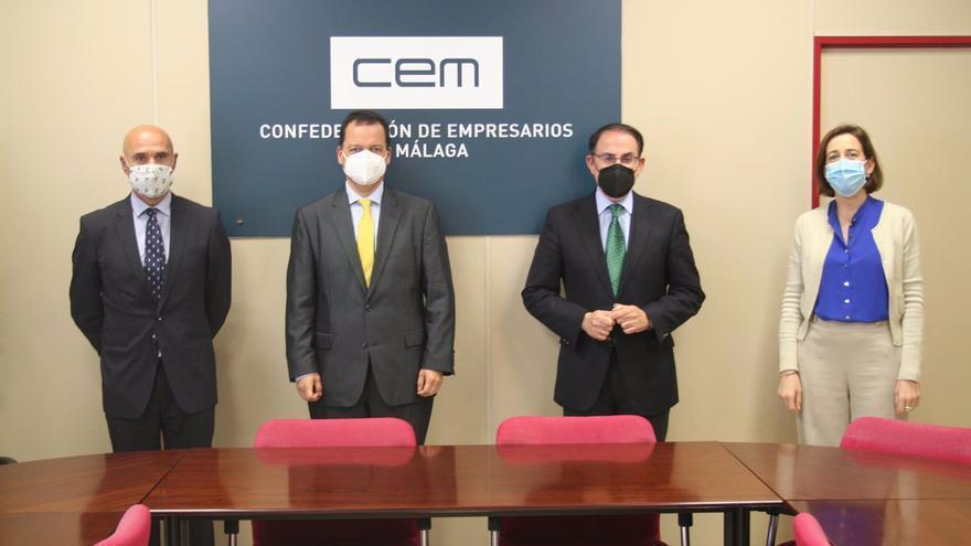 El Colegio de Gestores Administrativos de Málaga se incorpora a la CEM