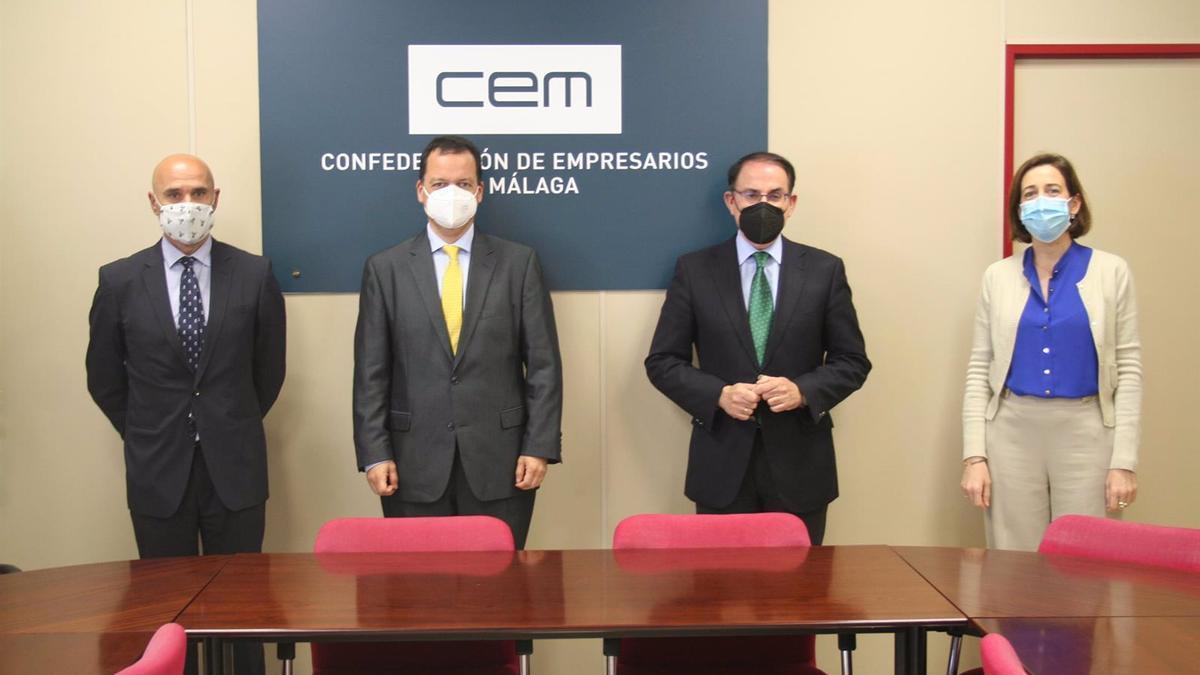 El Colegio de Gestores Administrativos de Málaga se incorpora a CEM