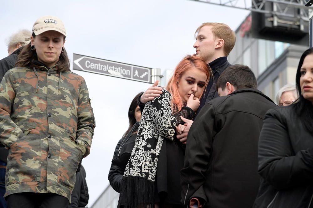 Las imágenes del atentado en Estocolmo