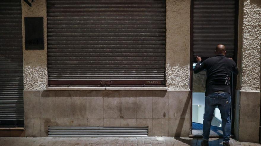 VÍDEO Y GALERÍA | El toque de queda pone la puntilla al debilitado sector de la hostelería en Zamora
