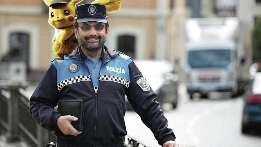 Noreña pide a Pikachu de mascota policial