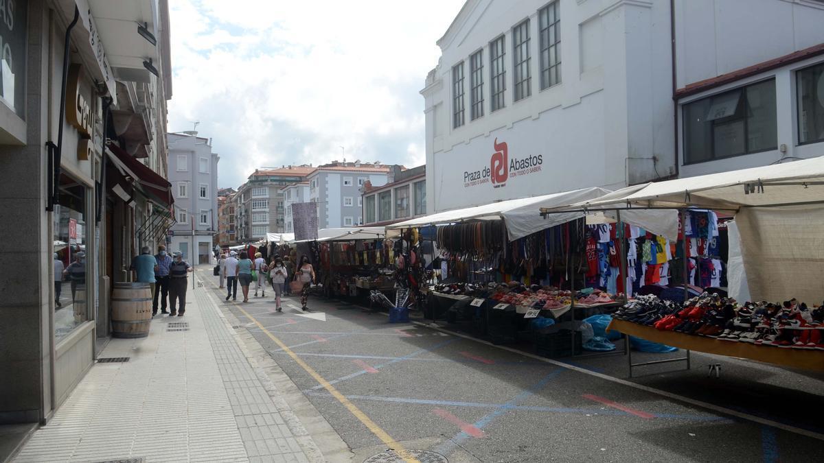 Calle Aleixandre Bóveda, donde supuestamente ocurrieron los hechos