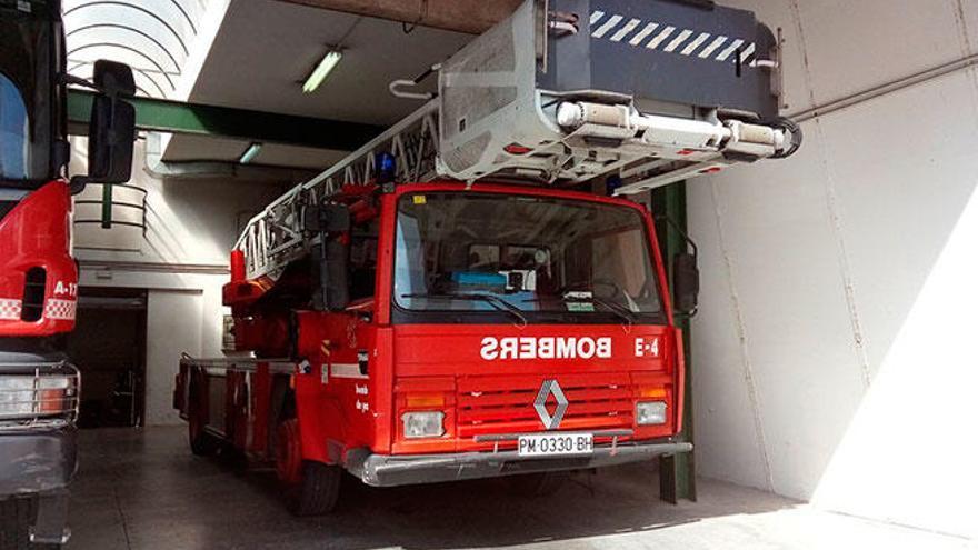 Incendio en una cocina de un domicilio de Palma