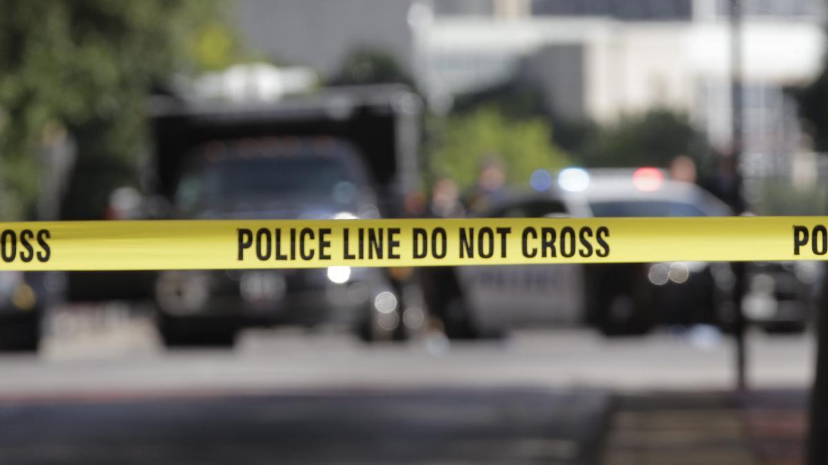 Un cordón policial en Estados Unidos