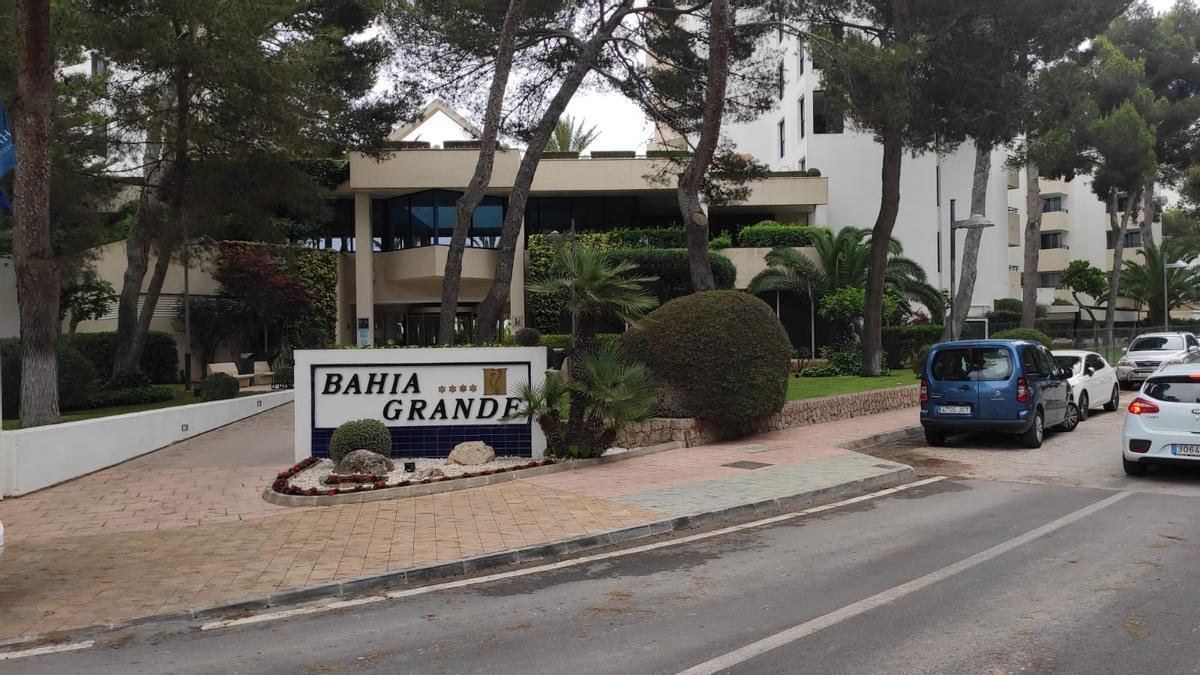 El hotel en el que se alojaba el pequeño