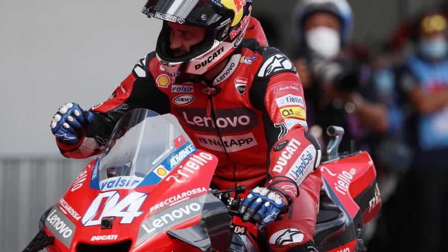 Dovizioso s'imposa en una accidentada cursa a Àustria