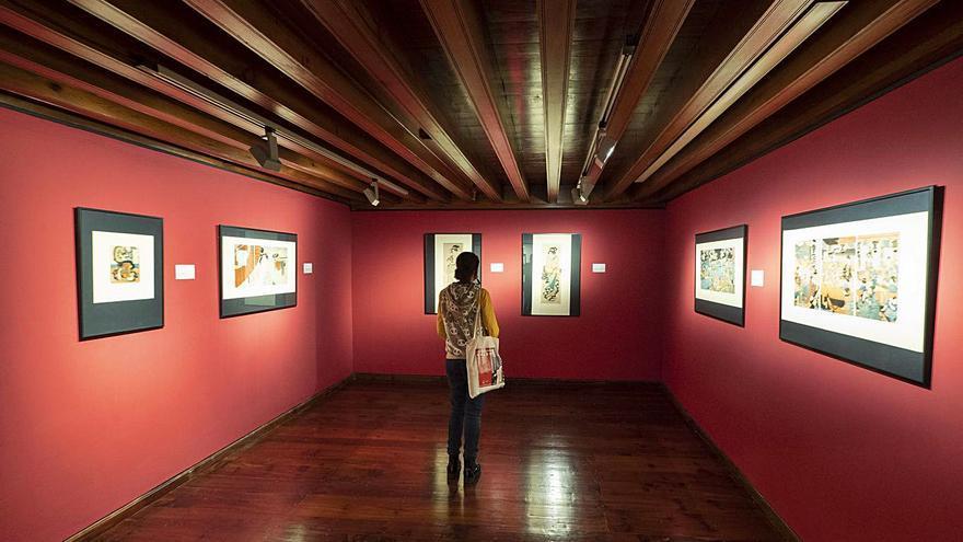 CajaCanarias lleva el arte japonés a La Palma con la muestra 'Geisha y Samurái'
