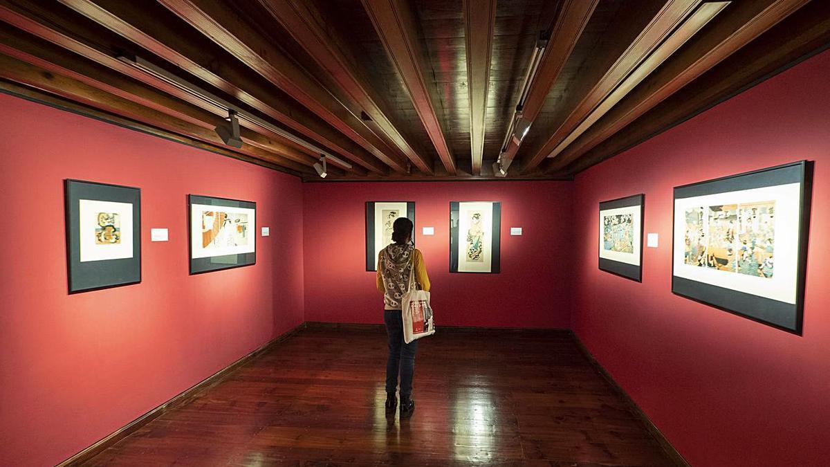 Una de las salas de la exposición. | | EL DÍA