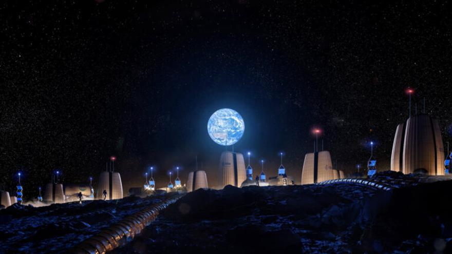 Peces y mariscos podrían alimentar a los futuros humanos en la Luna