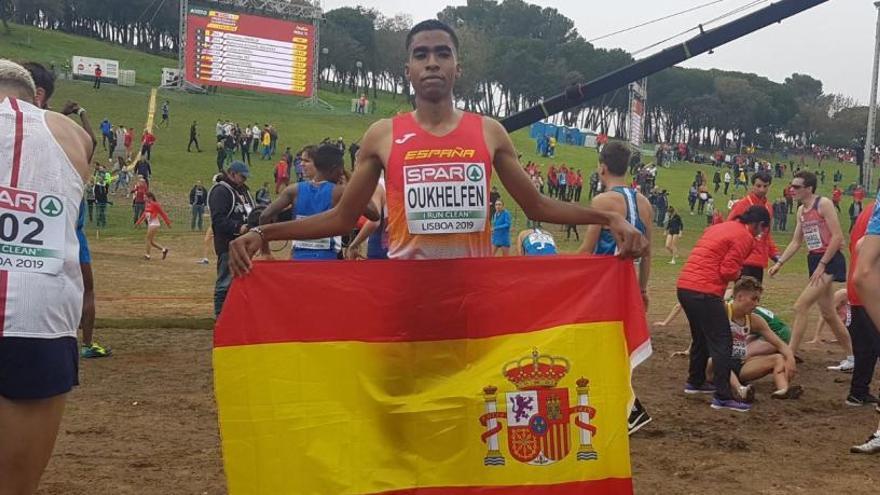 Abdessamad Oukhelfen, del CA Igualada, és tercer a l'europeu sub-23 de cros