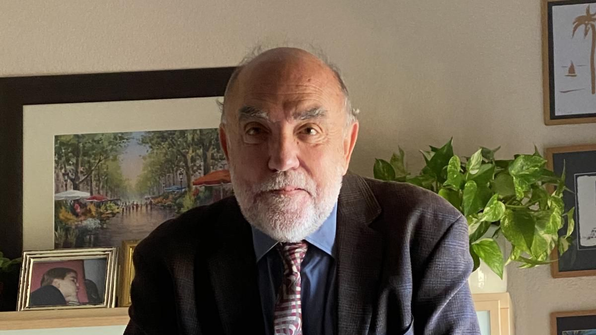 Rafael Manzanera és un metge epidemiòleg amb vincles d'estiueig a Moià |