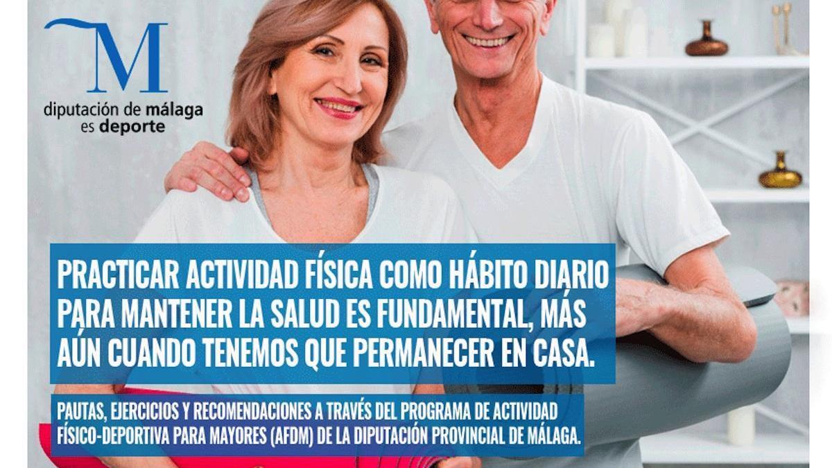 #yomemuevoencasa, la guía de la Diputación para los mayores de Málaga