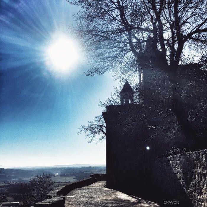 Vistes des del castell vell de Solsona.