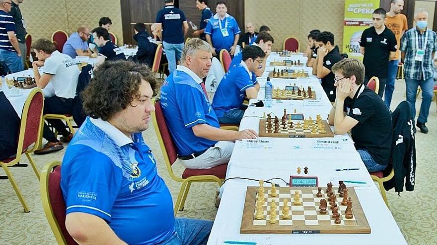 Silla y Paterna cierran  con «buenas sensaciones» el Europeo de ajedrez