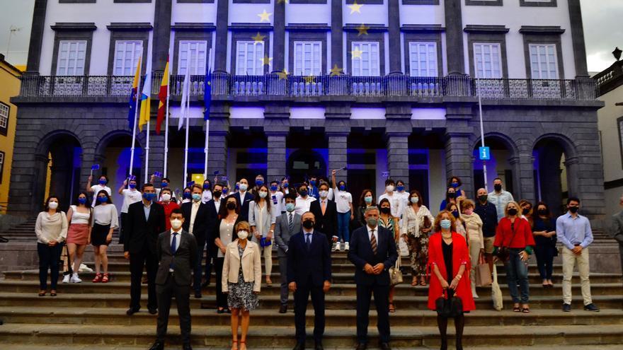El Ayuntamiento celebra el Día de Europa junto al Consejo Canario del Movimiento Europeo