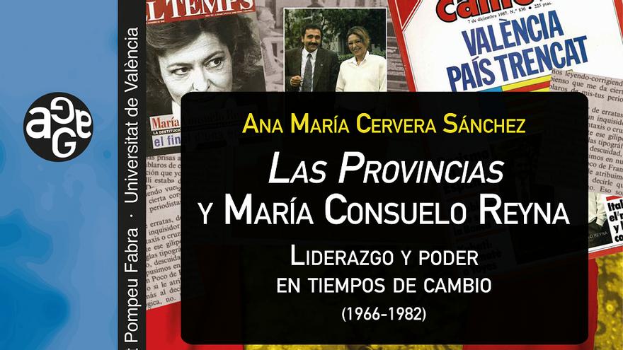 56 Fira del Llibre de València: Presentación libro Las Provincias y María Consuelo Reyna