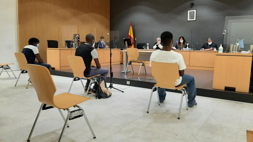 Tres años de cárcel a dos patrones de una patera que llegó a Arguineguín