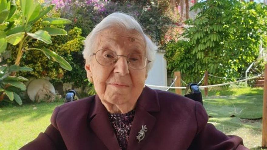 Lola Crosa,  105 años de una vida