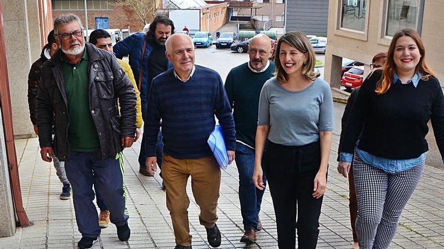 La eurodiputada Sira Rego recogerá en Moaña las demandas de los afectados por impagos del naval