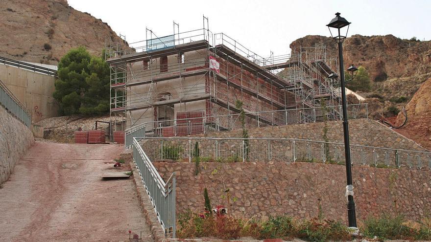 Las obras de  la ermita de San Lázaro estarán concluidas en 2022