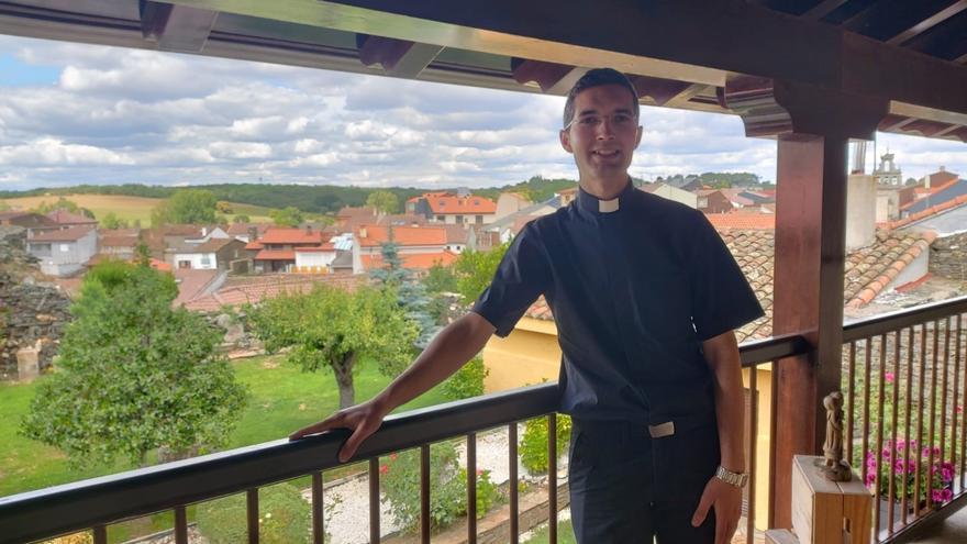 Agustín Crespo, nuevo cura para la diócesis de Zamora
