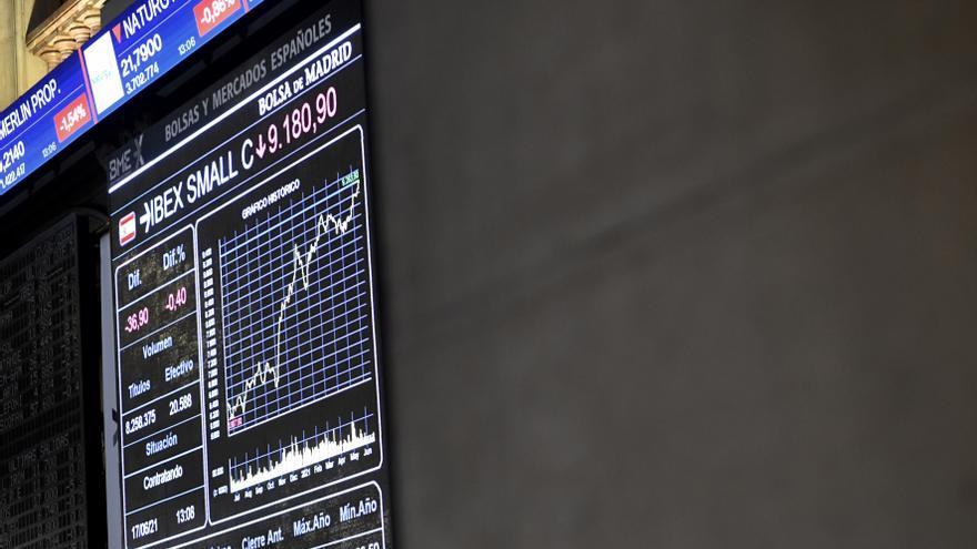 La Bolsa española abre con una caída del 0,63% y pierde los 9.000 puntos