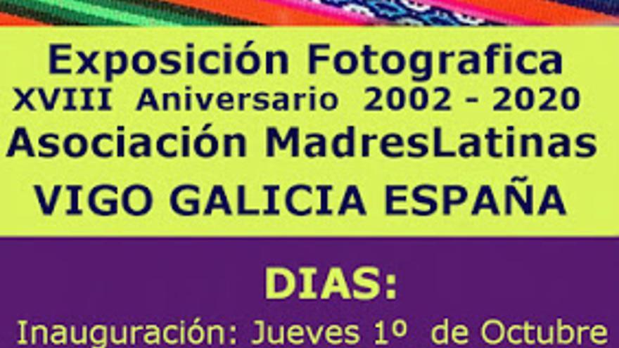 Exposición Fotografica XVIII Aniversario de la Asociación Madres Latinas 2002 - 2020