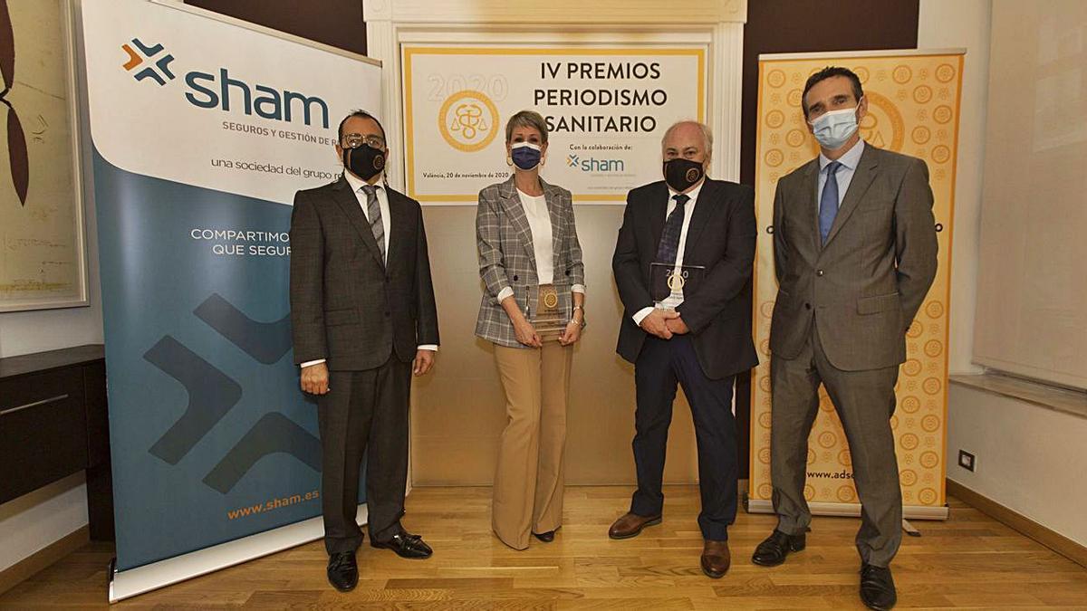 Entrega de los Premios Periodismo Sanitario   LEVANTE-EMV