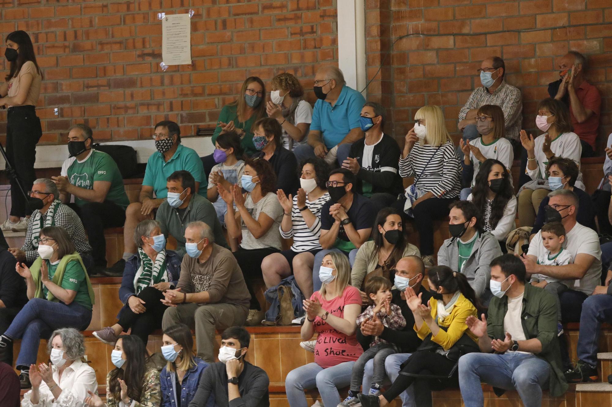 El Bordils brinda a la seva afició un últim triomf a Plata