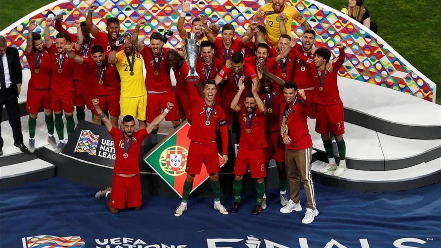 Guedes da a Portugal el primer título de la Liga de Naciones