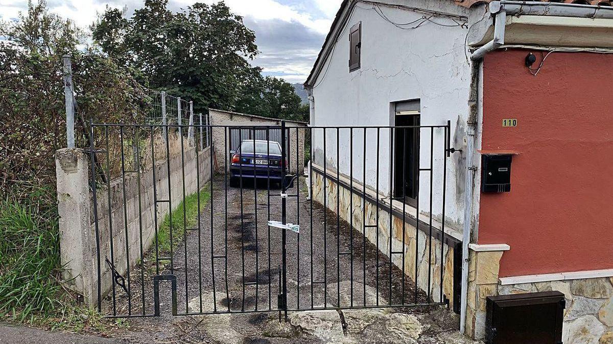 La casa en la que residía Ginés Priede.