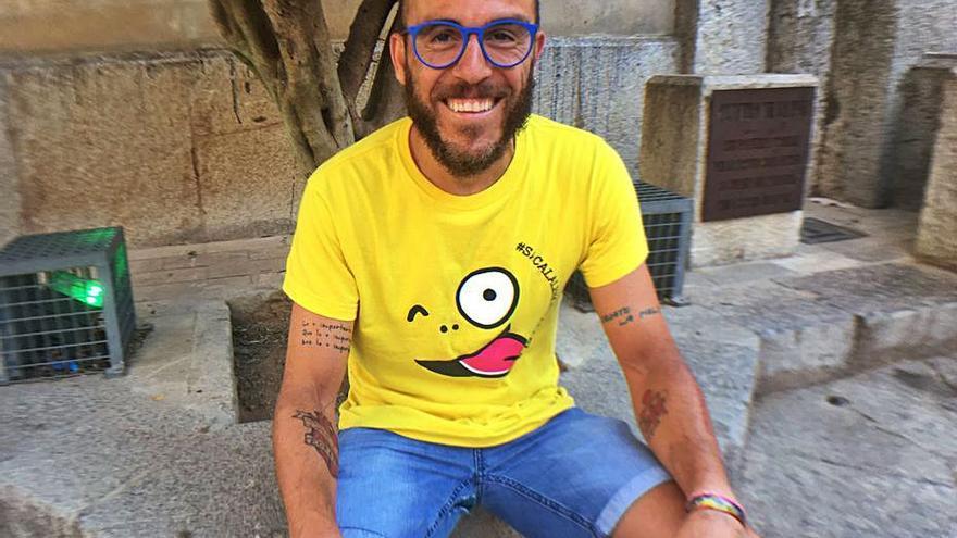 El gran reto solidario de Sergi López