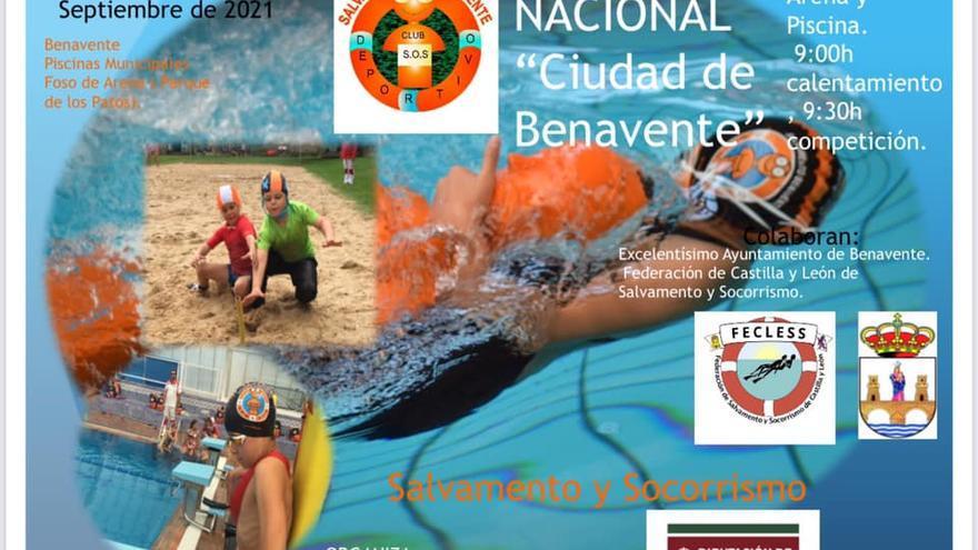 """EI Trofeo de Salvamento """"Ciudad de Benavente"""" contará con medio centenar de socorristas"""