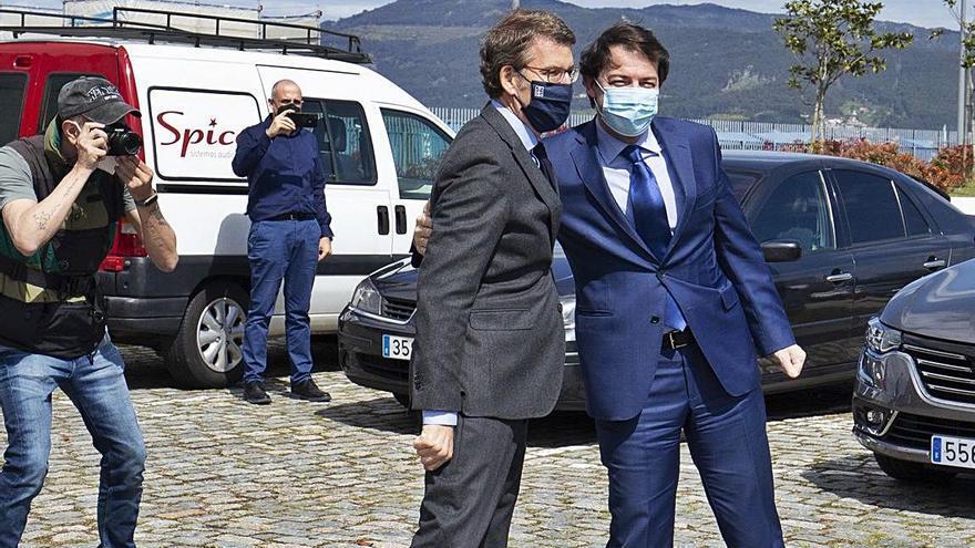 Mañueco exige al Gobierno avances y pasos decisivos para el Corredor del Atlántico