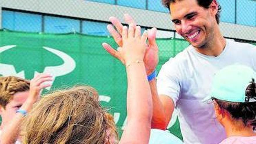 Movistar i Amazon estrenen la sèrie «Rafa Nadal Academy»