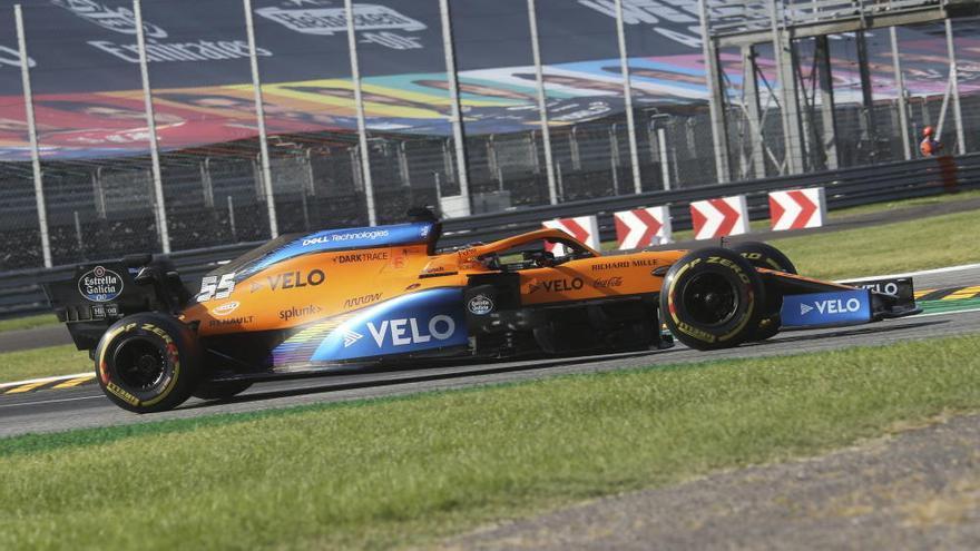 Sainz acaricia en Monza una victoria que se llevó Gasly