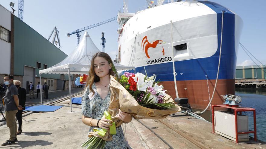 """Armón entrega el petrolero """"Blue Eagle"""" a la empresa mexicana Durandco: """"Es el buque más avanzado del sector"""""""
