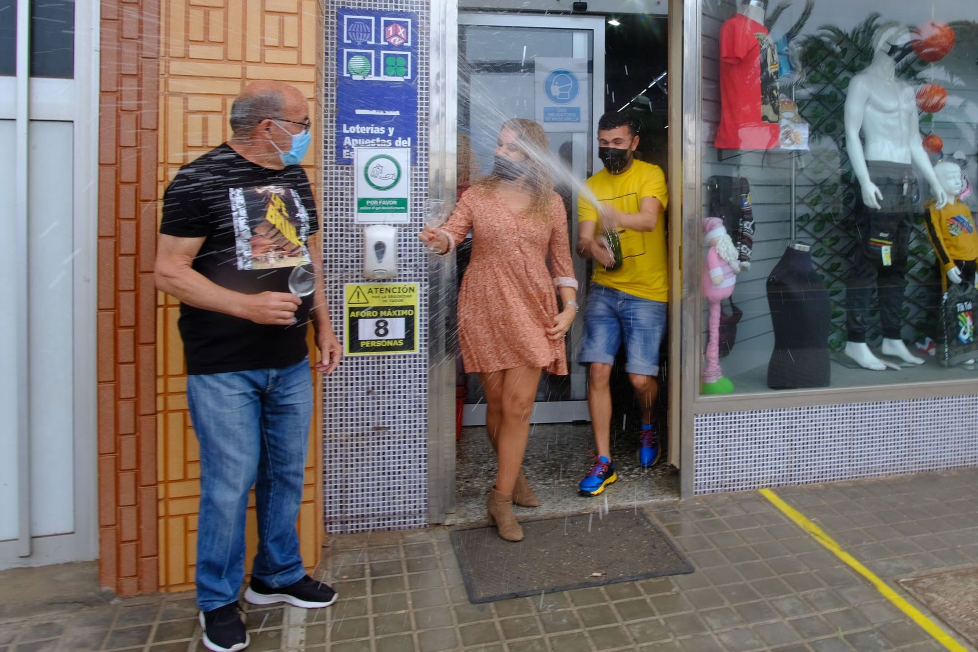 Celebración de la Lotería del Niño en Gran Canaria