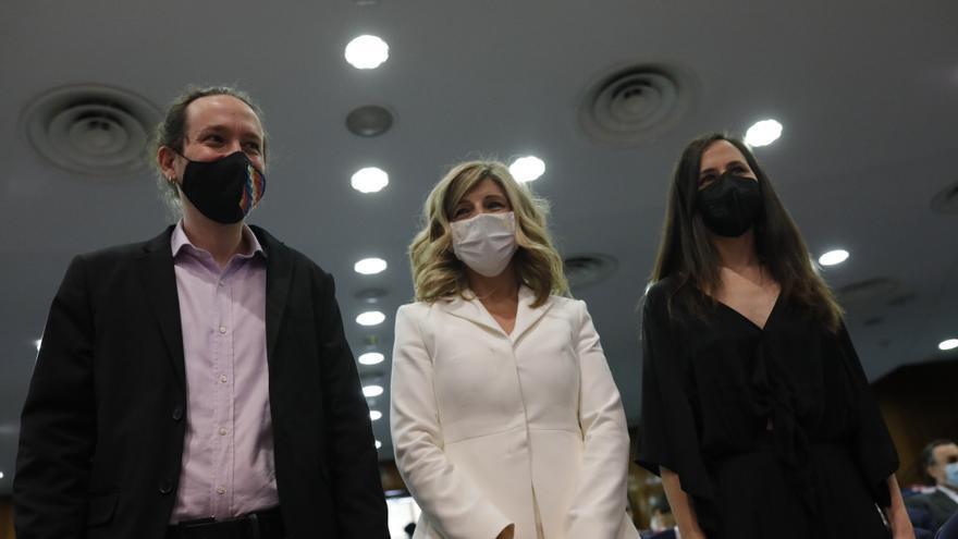 Iglesias le da el relevo a Yolanda Díaz e Ione Belarra