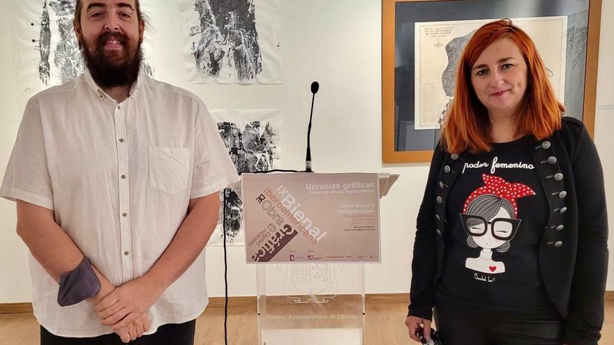 La bienal de arte recibe un centenar de obras