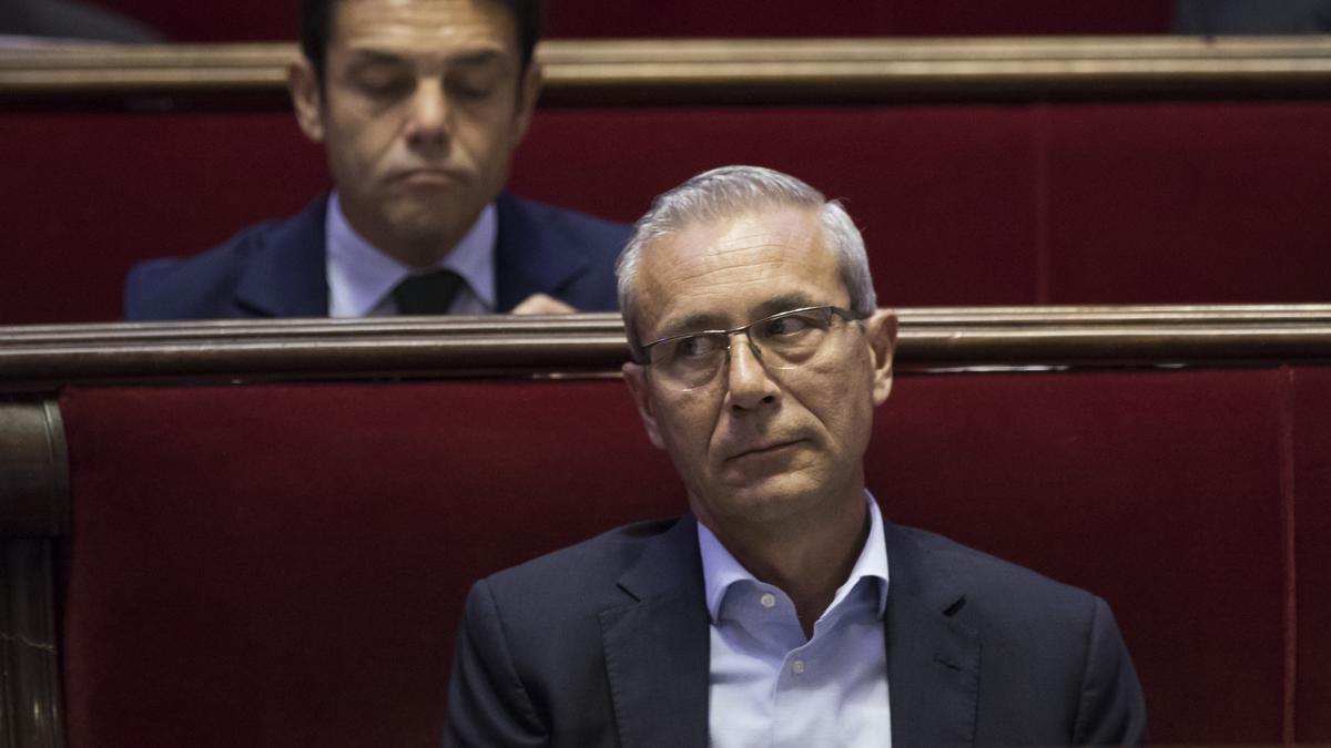 El concejal del PP Santiago Ballester
