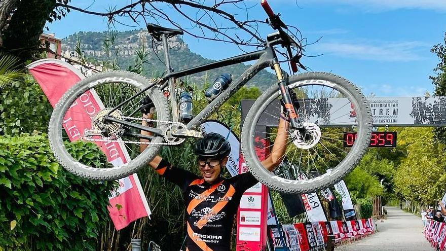 La MedXtrem arranca con triunfo de un ciclista de Castellón