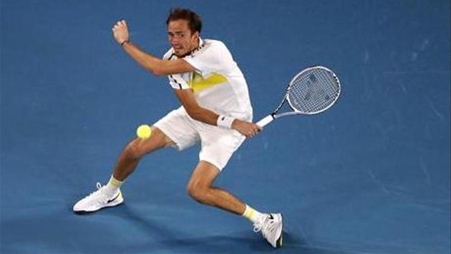 Medvedev, lanzado a la final de Australia