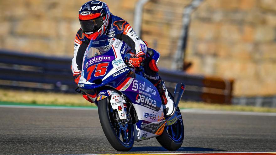 Albert Arenas reforça el seu lideratge a Moto 3
