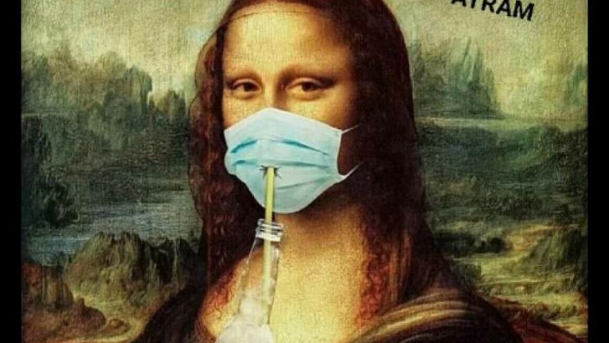 """Un vecino de Lugo llevaba su mascarilla con dos agujeros """"para respirar mejor"""""""