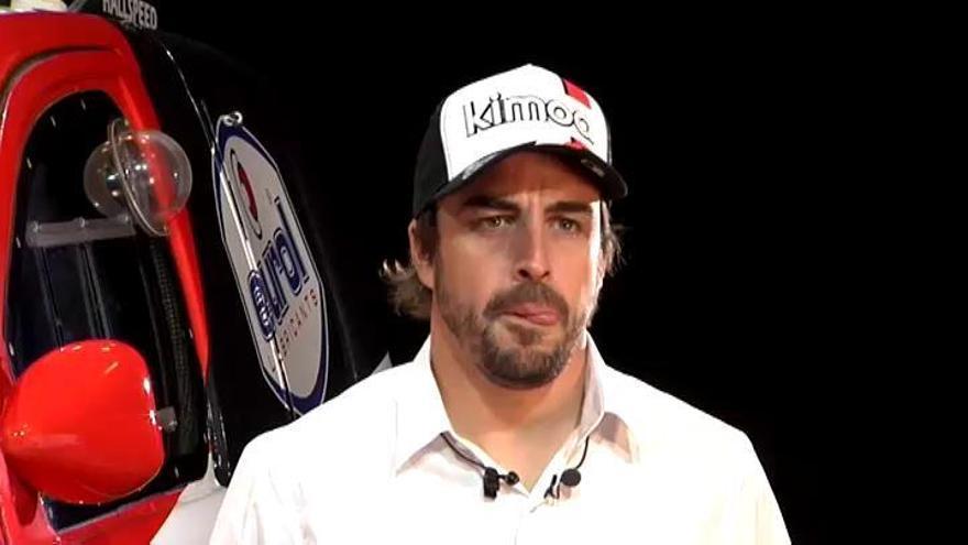 Fernando Alonso confirma que correrá el Rally Dakar 2020